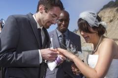 Wedding in Santa Cruz, California, USA