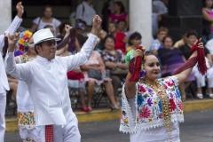 Mestizos en Siempre Domingo, Merida, Yucatan, Mexico